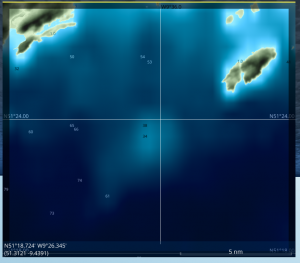 Screenshot of the map